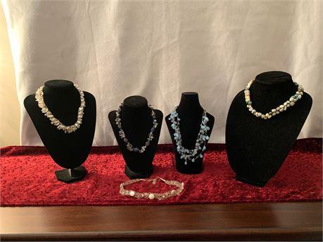 Lot 5 Artisan Necklaces
