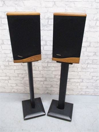 BABY ADVENT III SPEAKERS AND STANDS