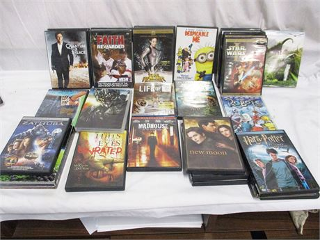 LOT OF OVER 60 DVDs