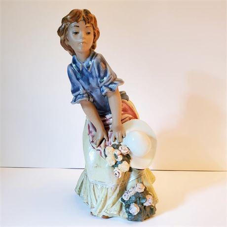"Lladro Figurine ""Maiden"" #3506 Signed"