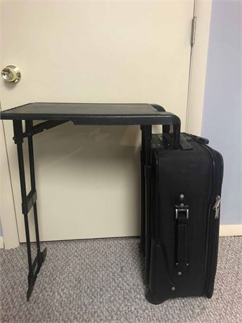 Flight Table Suitcase
