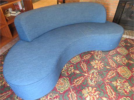 Contemporary Serpentine Sofa