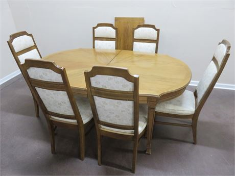 Vintage Mid-Century DREXEL Dining Table Set