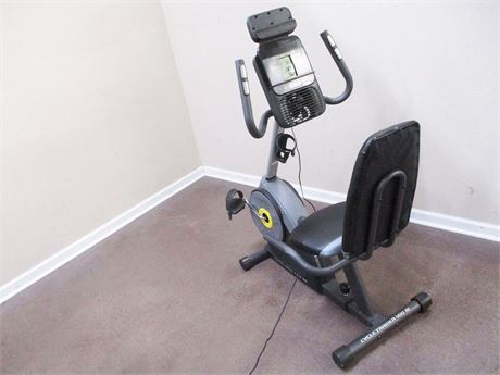 GOLD'S GYM CYCLE TRAINER 400RI RECUMBENT BIKE