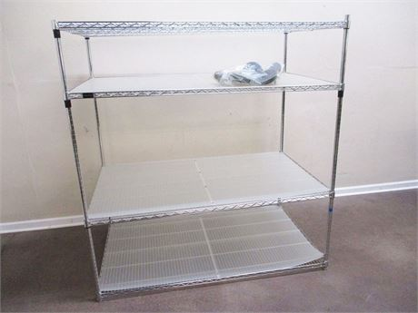 FRONTGATE EXTRA-DEEP WIRE SHELVING