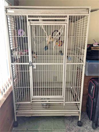 Parrot/McCaw Bird Cage