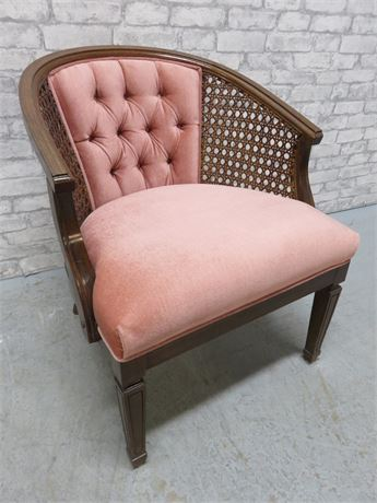 Cane Sided Club Chair