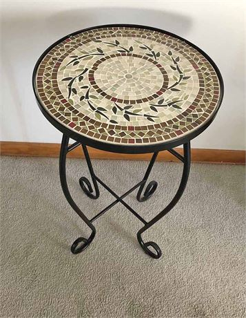 Tile Accent Table