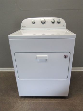 Whirlpool Electric Dryer Model #WED4915EW1