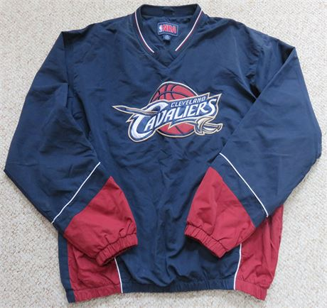 CLEVELAND CAVALIERS Mens Pullover Windbreaker Jacket - Size L