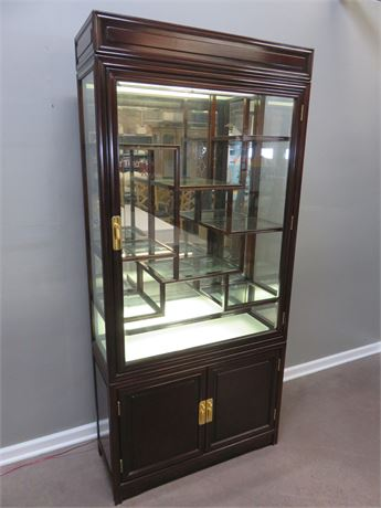 Asian Style Curio Cabinet