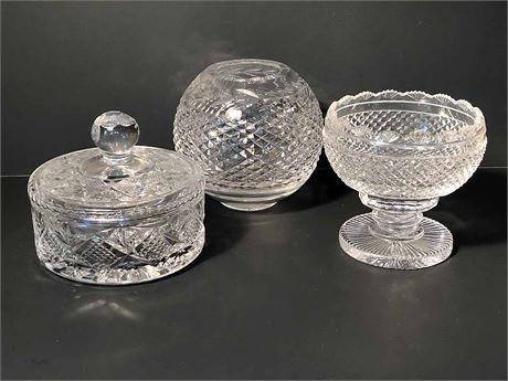 Waterford Candy Dish & Rose Bowl