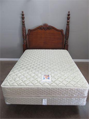CENTURY FURNITURE Cherry Queen Poster Bed