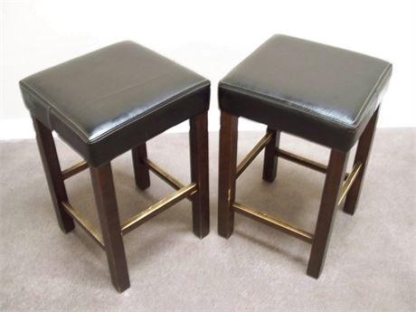2 WORLD MARKET BAR/BISTRO STOOLS