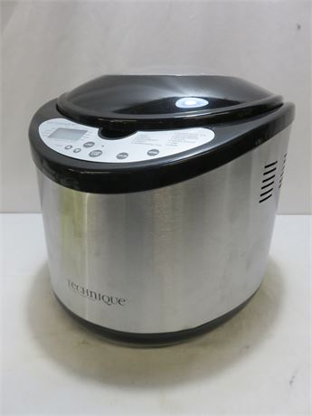 TECHNIQUE 2 Lb Capacity Bread Machine
