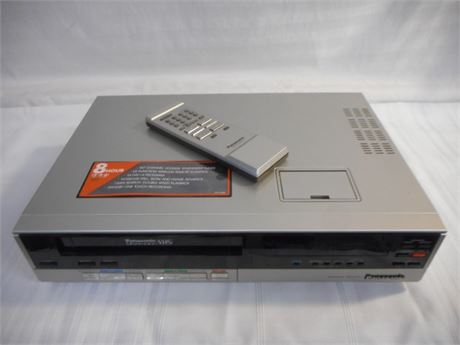 PANASONIC OMNIVISION VHS WITH REMOTE