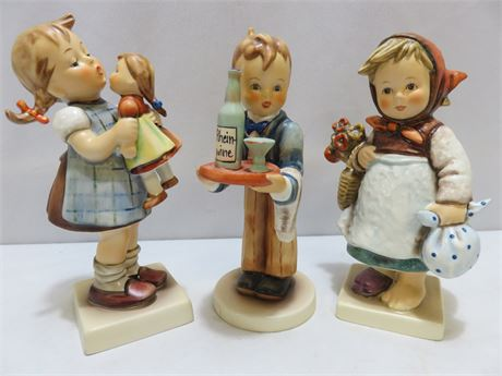 3-Piece HUMMEL Figurine Lot