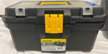 Stanley and Workforce Toolbox and tools lot