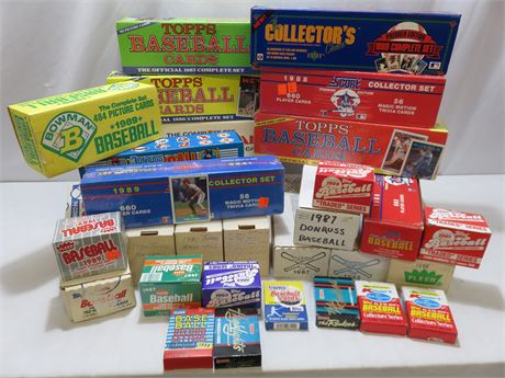1980s Baseball Card Collection