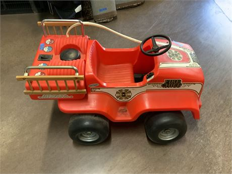 Fire Truck Riding Toy