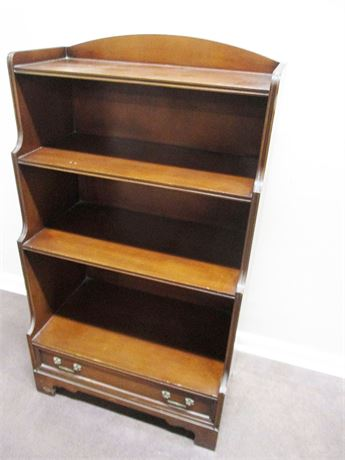 LOVELY MAHOGANY BOOKSHELF