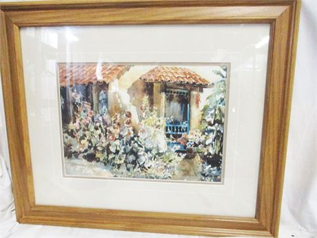 """""""BUENA VISTA B&B"""" BY RALEIGH KINNEY #31/200 - SIGNED"""