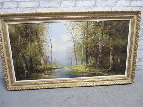 ORIGINAL OIL PAINTING SIGNED BY JOSEF KUGLER