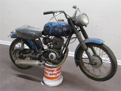 ***BARN FIND*** 1960'S SEARS ALLSTATE/GILERA 106SS MOTORCYCLE - 5,305 MILES