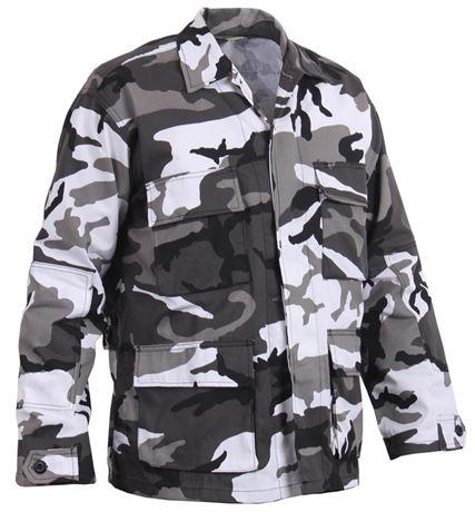 ROTHCO City Camo Tactical BDU Shirt - Size XL