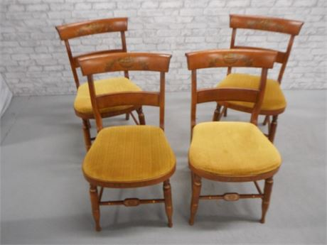 4 L. HITCHCOCK DINING CHAIRS