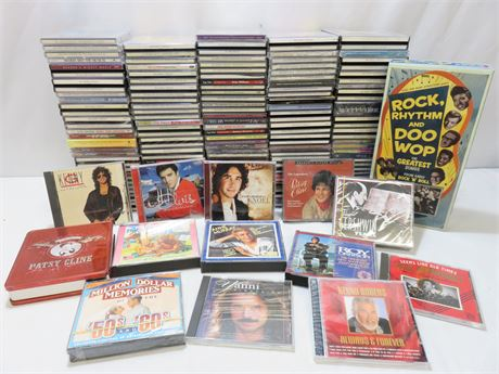Huge Music CD Collection - Over 200!