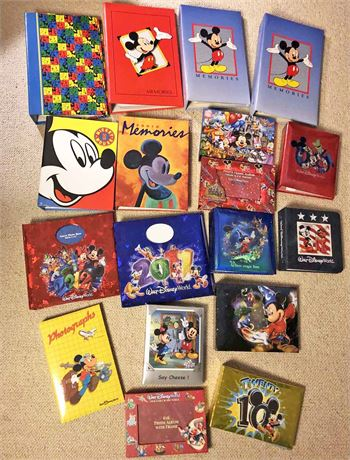 Disney Photo/Scrapbook Albums