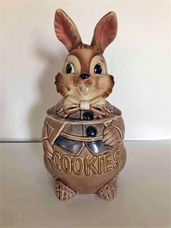 Vintage Rabbit Cookie Jar