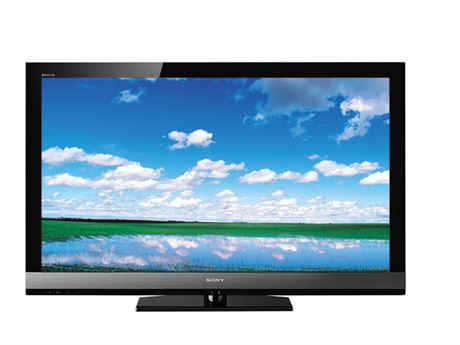 "SONY BRAVIA 52"" LED HDTV - NO REMOTE"