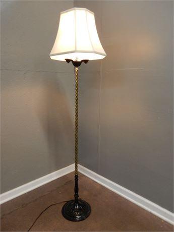 Vintage Three Light Floor Lamp