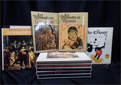 Art Book Lot