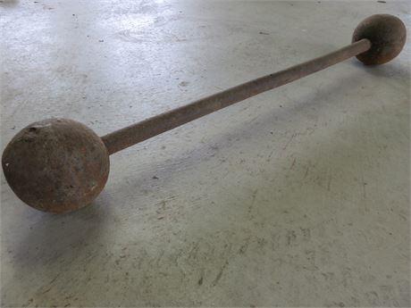 Antique Strongman Barbell