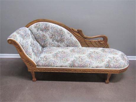 VINTAGE LOOK FAINTING COUCH