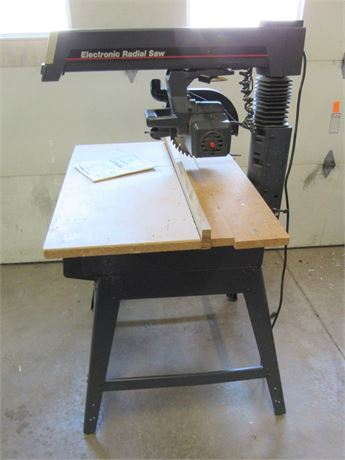 "Sears Craftsman Electronic 10"" 2.5hp Radial Arm Saw"