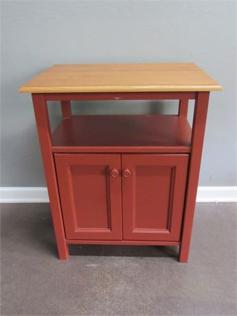 Painted Kitchen/Utility Cabinet