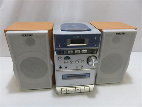 SONY Micro Hi-Fi Component Stereo System