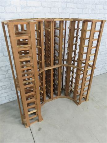 Half Circle 96-Bottle Wine Rack