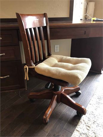 Bombay Wood Accent Chair