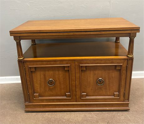 Vintage Server with Extension on Casters