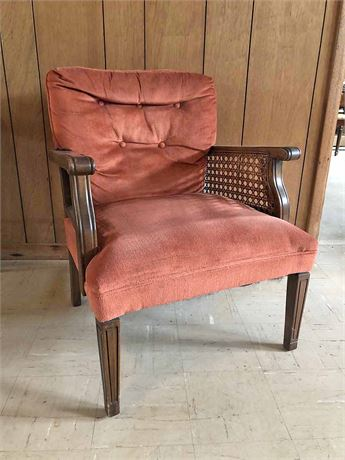 Vintage Cain Chair