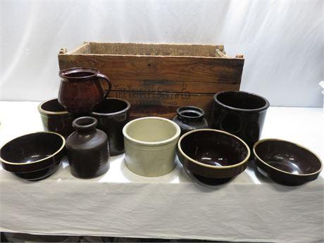 Vintage Stoneware Lot