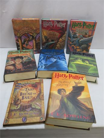 Complete HARRY POTTER Book Series - J.K. Rowling