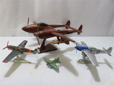 Replica Fighter Plane Toy Lot