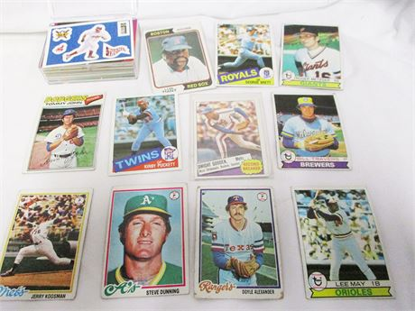 LOT OF VINTAGE SPORTS CARDS - SOME 1960s