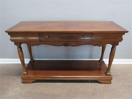 Nice Broyhill Sofa/Console Table